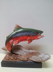 Brook Trout Statue
